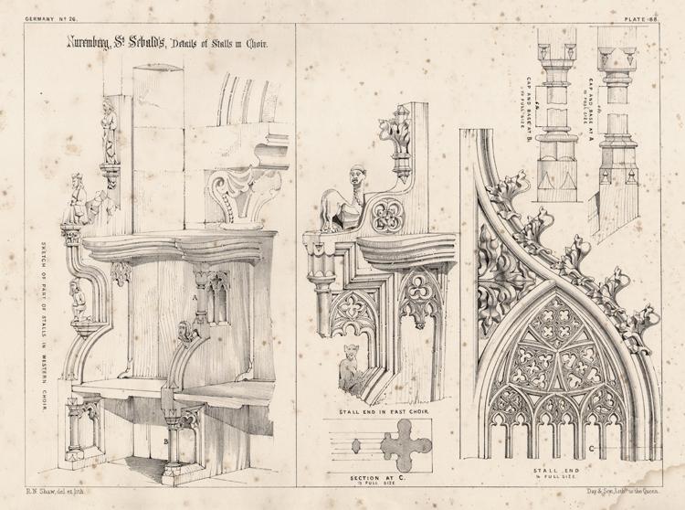 Старинная мебель чертежи